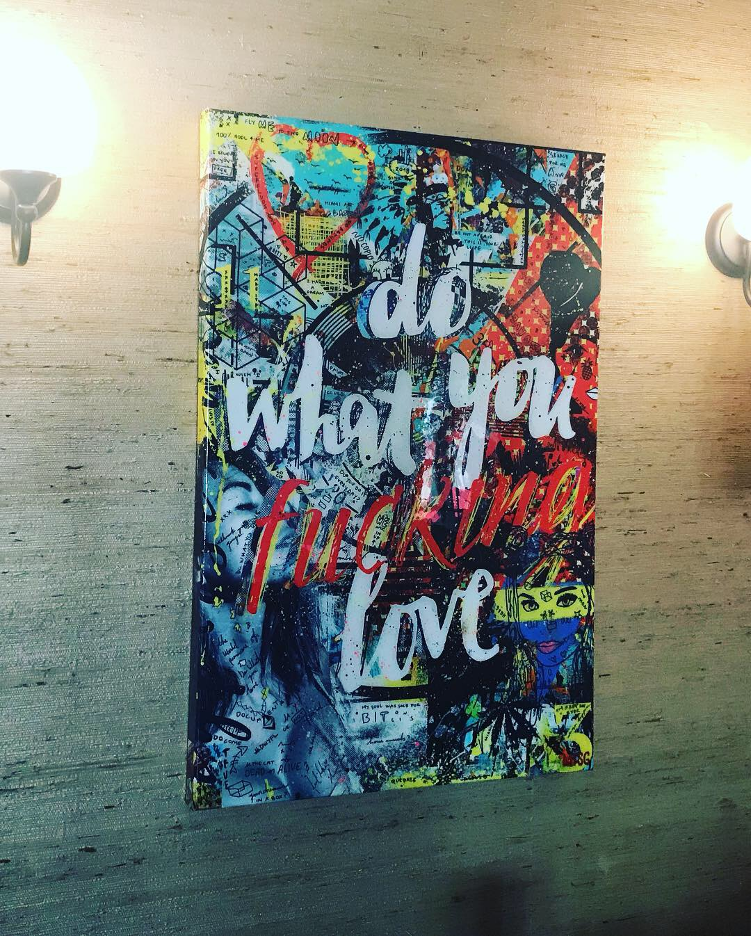 Do What You Love Art by Sergey Gordienko aka LSKiP