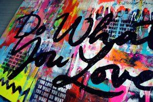 Do What You Love Art by Sergey Gordienko