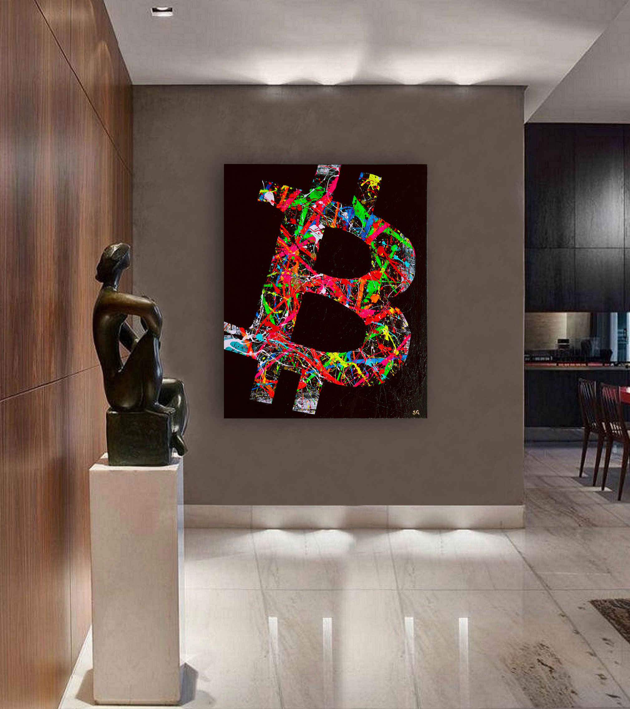 Crypto Art by Sergey Gordienko aka LSKiP