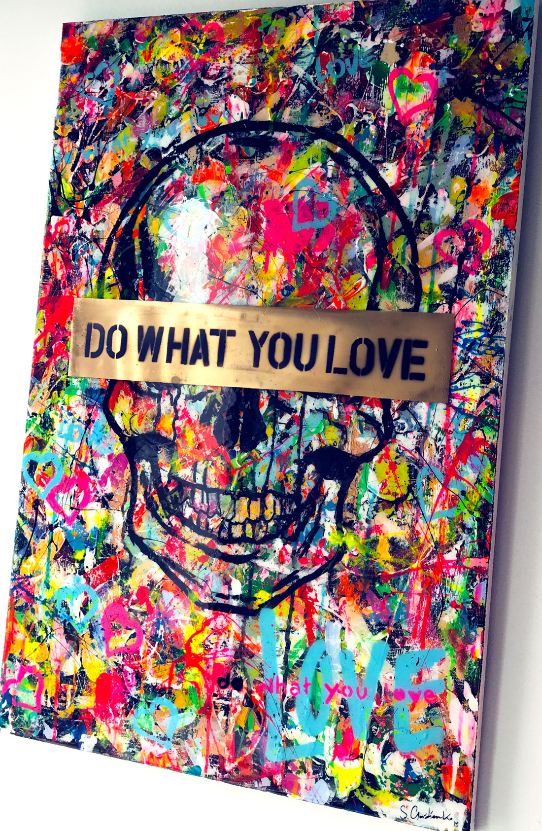 """Do What You Love """"Skull Edition"""""""