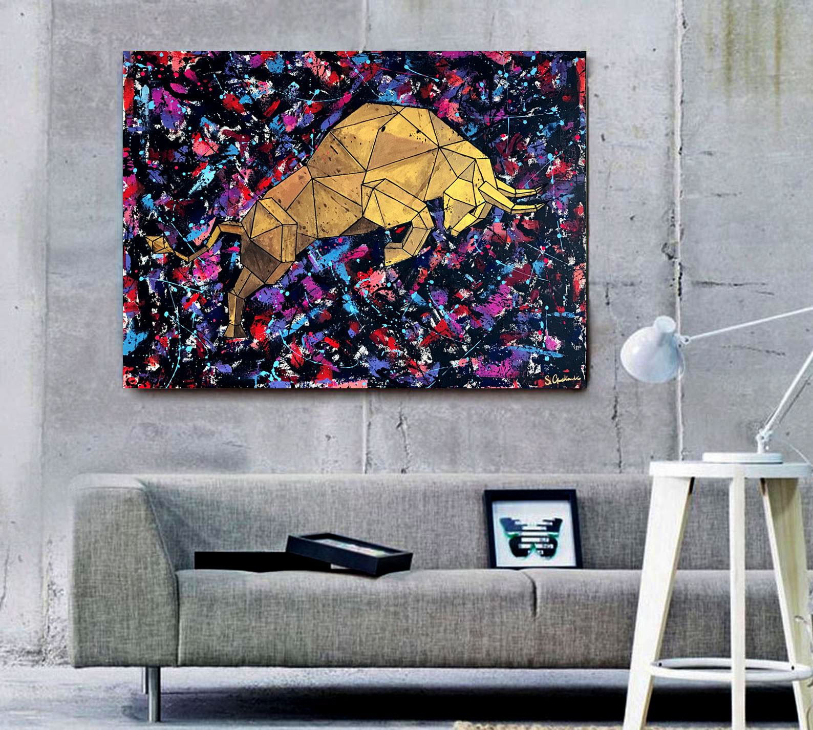 Crypto Art Bull - Maverick
