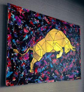Crypto Art Bull - Maverick